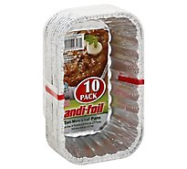 Handifoil 1 Pound Loaf Pan - 10 Count