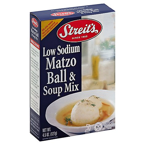 Streits Soup Mix Matzo Ball Ls - 4.5 Oz