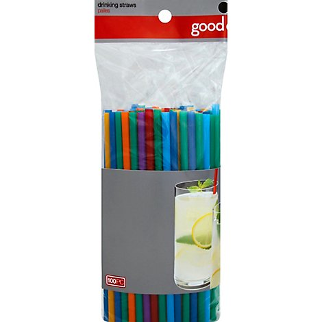 Good Cook Jumbo Straw - 100 Count