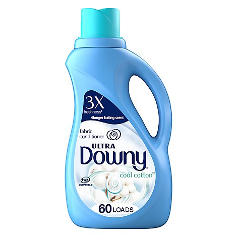 Downy Ultra Fabric Conditioner Cool Cotton - 51 Fl. Oz.