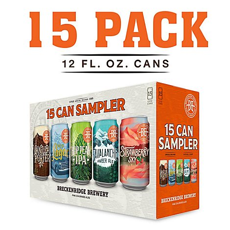 Breckenridge Sampler In Cans - 15-12 Fl. Oz.