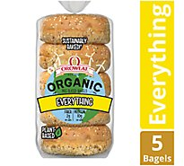 Oroweat Organic Everything Bagel - 13 Oz
