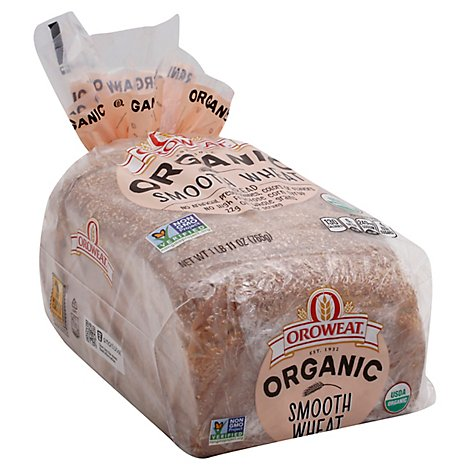 Oroweat Organic Bread Smooth Wheat - 27 Oz