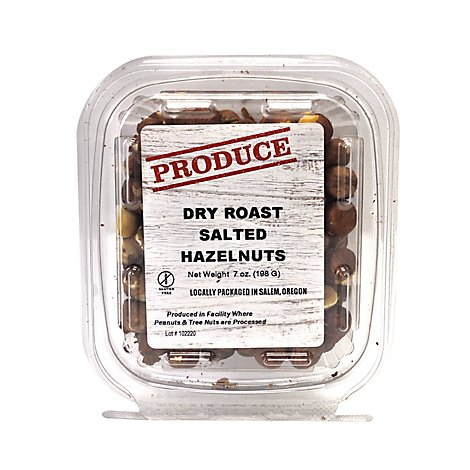 Rivertrail Foods Produce Hazelnuts Dry Roast Salted - 7 Oz