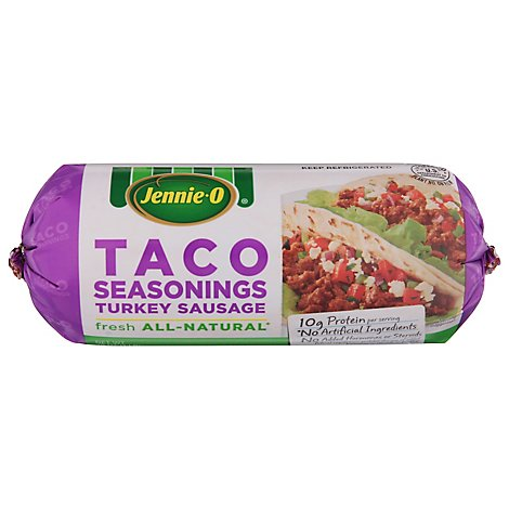 Jennie-O Turkey Store Turkey Sausage Taco Seasoning Chub - 16 Oz