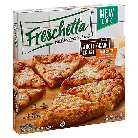 Freschetta Pizza Whole Grain Four Cheese Frozen - 22.3 Oz