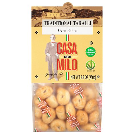 Casa Milo Traditional Taralli - 8.8 Oz