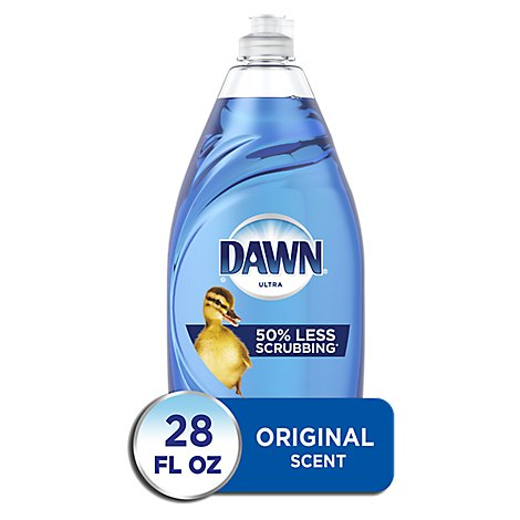 Dawn Ultra Dishwashing Liquid Original Scent - 28 Fl. Oz.