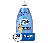 Dawn Ultra Dishwashing Liquid Original Scent Bottle - 28 Fl. Oz.