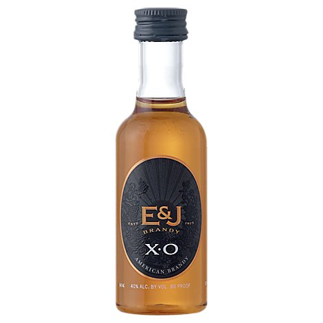 E&J Brandy 80 Proof Domestic - 50 Ml