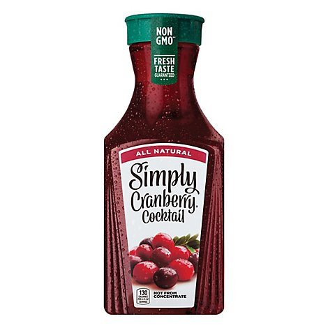 Simply Cranberry Cocktail All Natural - 52 Fl. Oz.