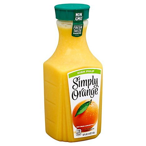 Simply Orange Juice High Pulp - 52 Fl. Oz.