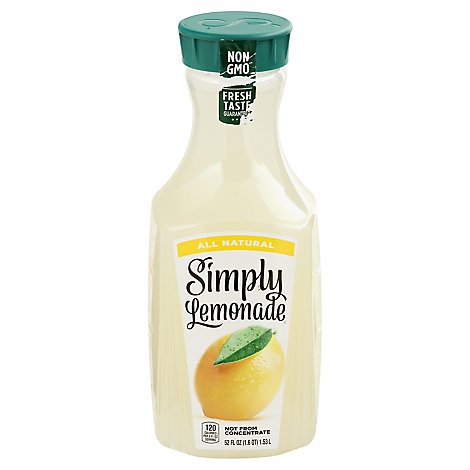 Simply Lemonade Juice All Natural - 52 Fl. Oz.