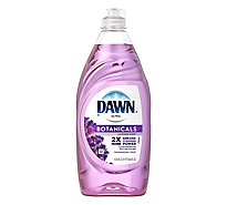 Dawn Ultra Dishwashing Liquid Escapes Mediterranean Lavender Scent Bottle - 19.4 Fl. Oz.