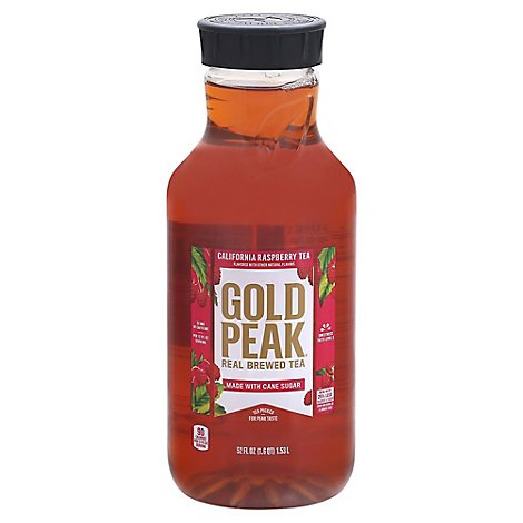 Gold Peak Tea Iced Raspberry Flavored - 52 Fl. Oz.