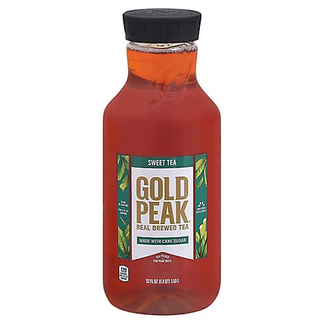 Gold Peak Tea Black Tea Sweetened - 52 Fl. Oz.