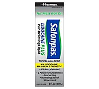 Salonpas Lidocaine Plus Roll-On - 3 Fl. Oz.