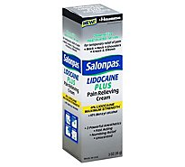 Salonpas Cream 4% Lidocaine Plus - 3 Oz