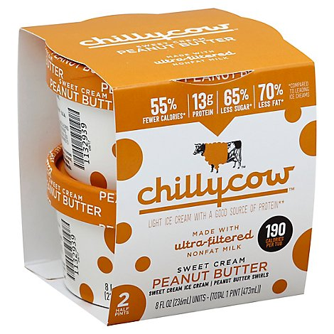 Chilly Cow Sweet Cream Peanut Butter - 2-8 Fl. Oz.