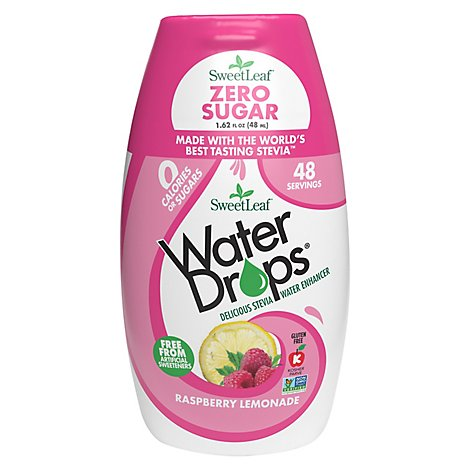 Sweetleaf Stevia Water Drop Rspbry Lmn - 1.62 Fl. Oz.
