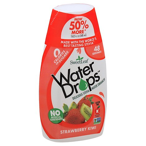 Sweetleaf Stevia Water Drop Strwbry Kiwi - 1.62 Fl. Oz.