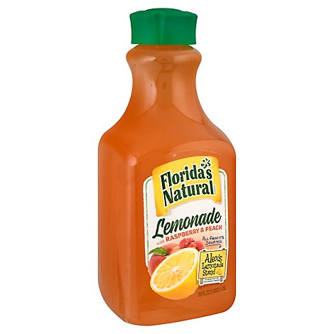 Floridas Natural Lemonade with Raspberry and Peach Chilled - 59 Fl. Oz.
