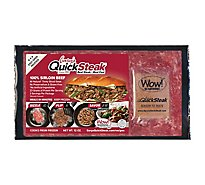 Garys Quick Steak Beef Sirloin - 12 Oz