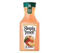 Simply Peach Juice All Natural - 52 Fl. Oz.