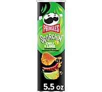 Pringles Potato Crisps Chips Extra Hot - 5.5 Oz