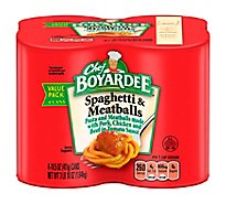 Chef Boyardee Spaghetti And Meatballs - 58 Oz