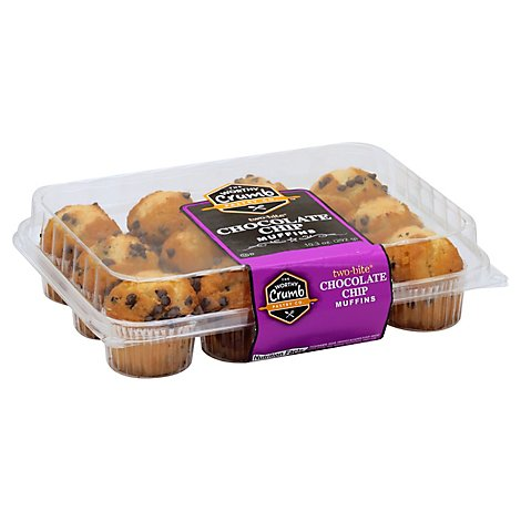 Muffin Chocolate Chip Tb Wallys - 10.29Oz
