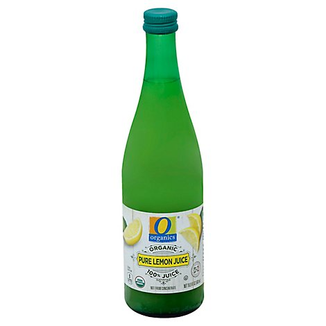 O Organics Organic Juice Lemon Pure 100% - 16.9 Fl. Oz.