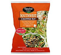 Taylor Farms Southwest Chopped Salad Kit Family Size - 23.3 Oz