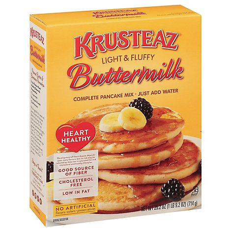 Krusteaz Heart Healthy Pancake Mix - 25.2 Oz