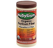 NuSyllium Organic Natural Fiber Natural Orange Flavor - 30.5 Oz
