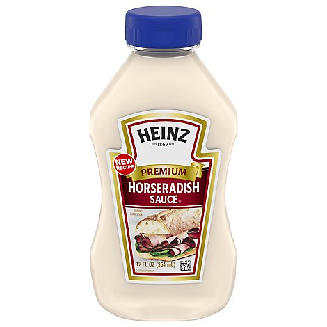 Heinz Horseradish Sauce 12 Fl Oz Pavilions