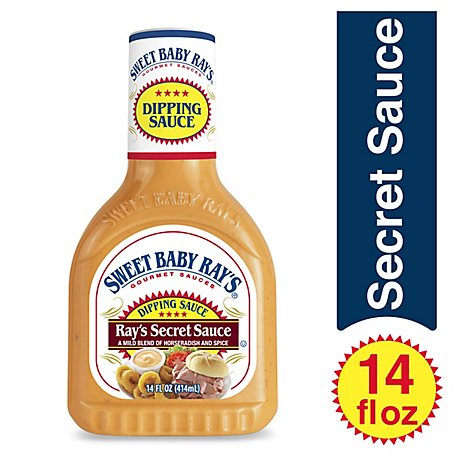 Sweet Baby Rays Sauce Dipping Rays Secret Sauce - 14 Oz