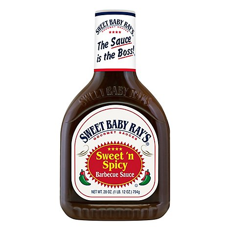 Sweet Baby Rays Sweet N Spicy Bbq Sauce - 28 Oz