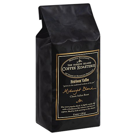 Vashon Island Coffee Midnight Blend Wb - 12 Oz