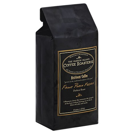 Vashon Island Coffee Frnt Prch French Wb - 12 Oz