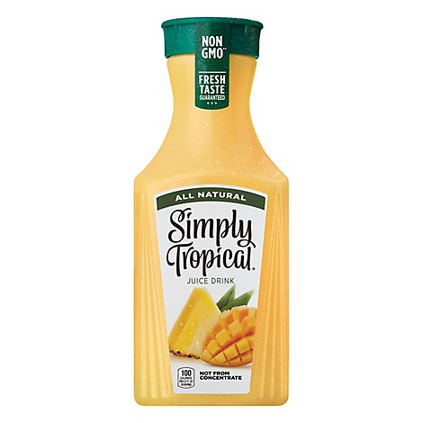 Simply Tropical Juice All Natural - 52 Fl. Oz.