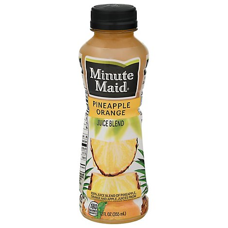 Minute Maid Juice Pineapple Orange - 12 Fl. Oz.