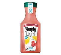 Simply Lemonade Light Juice With Raspberry - 52 Fl. Oz.