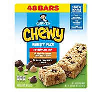 Quaker Chewy Variety Pack Granola Bars - 40.6 Oz