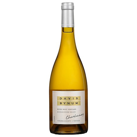 Davis Bynum Chardonnay River West Vyd Wine - 750 Ml