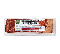 Open Nature Bacon Applewood Smoked Center Cut Uncured - 24 Oz