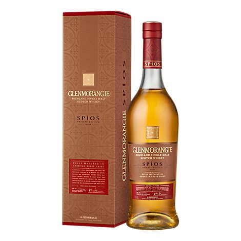 Glenmorangie Scotch Whisky Spios Highland Single Malt - 750 Ml