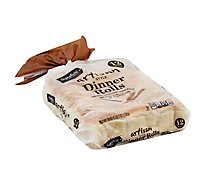 Signature SELECT Artisan Rolls White Dinner - 18 Oz