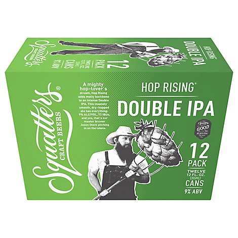 Squatters Double Ipa 12pk - 12-12 Fl. Oz.
