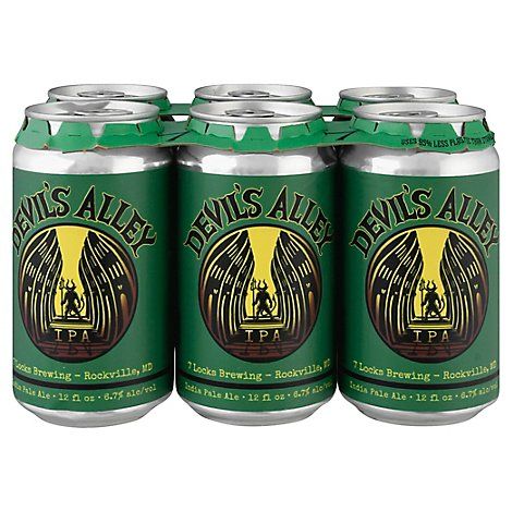 7 Locks Devils Alley Ipa In Cans - 6-12 Fl. Oz.
